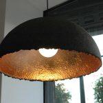 Atelier Mark de Weijer, ø Dome 60 cm anthraciet/roodkoper, €425,--